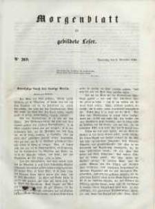 Morgenblatt für gebildete Leser, 1848, Donnerstag, 9. November 1848, Nr 269.