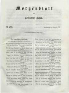 Morgenblatt für gebildete Leser, 1848, Freitag, 10. November 1848, Nr 270.