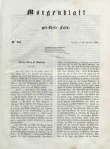 Morgenblatt für gebildete Leser, 1848, Dienstag, 28. November 1848, Nr 285.