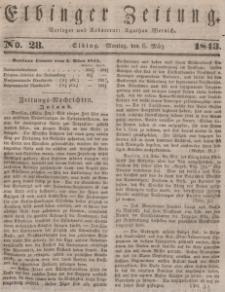 Elbinger Zeitung, No. 28 Montag, 6. März 1843
