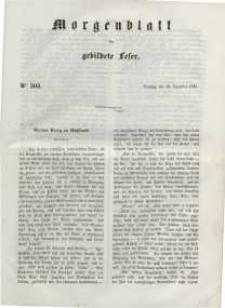 Morgenblatt für gebildete Leser, 1848, Dienstag, 19. Dezember 1848, Nr 303.