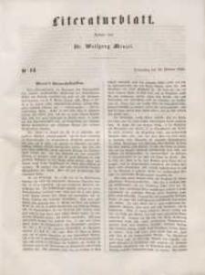 Literaturblatt, 1848, Donnerstag, 24. Februar, Nr 14.
