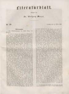 Literaturblatt, 1848, Dienstag, 14. März, Nr 19.