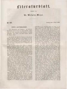 Literaturblatt, 1848, Dienstag, 4. April, Nr 24.