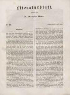 Literaturblatt, 1848, Dienstag, 11. April, Nr 26.