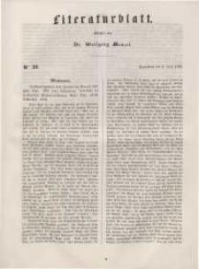 Literaturblatt, 1848, Sonnabend, 3. Juni, Nr 39.