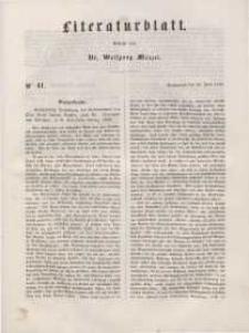 Literaturblatt, 1848, Sonnabend, 10. Juni, Nr 41.