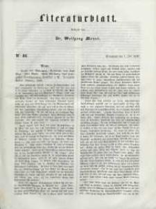 Literaturblatt, 1848, Sonnabend, 1. Juli, Nr 46.