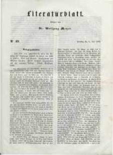 Literaturblatt, 1848, Dienstag, 11. Juli, Nr 49.