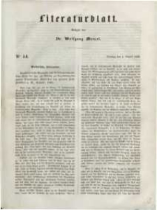Literaturblatt, 1848, Dienstag, 1. August, Nr 54.