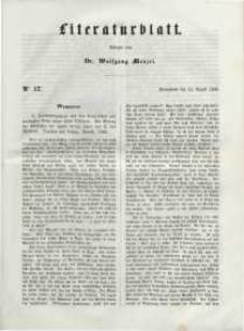Literaturblatt, 1848, Sonnabend, 12. August, Nr 57.