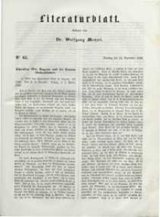 Literaturblatt, 1848, Dienstag, 12. September, Nr 65.