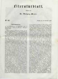 Literaturblatt, 1848, Dienstag, 19. September, Nr 67.