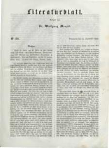 Literaturblatt, 1848, Sonnabend, 23. September, Nr 68.