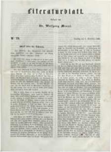 Literaturblatt, 1848, Dienstag, 7. November, Nr 79.
