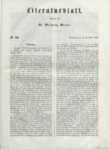 Literaturblatt, 1848, Sonnabend, 18. November, Nr 82.