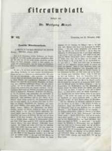 Literaturblatt, 1848, Donnerstag, 23. November, Nr 83.