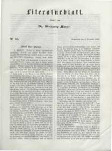 Literaturblatt, 1848, Sonnabend, 2. Dezember, Nr 85.