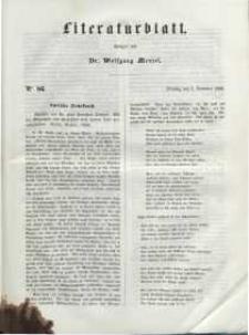 Literaturblatt, 1848, Dienstag, 5. Dezember, Nr 86.