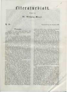 Literaturblatt, 1848, Sonnabend, 23. Dezember, Nr 91.