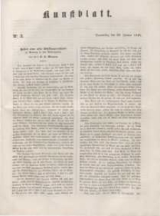 Kunstblatt, 1848, Donnerstag, 20. Januar, Nr 3.
