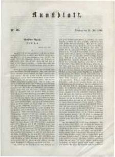 Kunstblatt, 1848, Dienstag, 25. Juli, Nr 36.