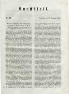 Kunstblatt, 1848, Donnerstag, 21. September, Nr 46.