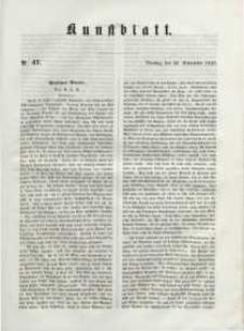 Kunstblatt, 1848, Dienstag, 26. September, Nr 47.