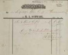 Rechnung nr 22 / 1861 (rachunek)