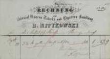 Rechnung nr 20/1861 (rachunek)