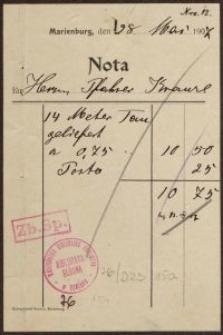Nota (28.05.1907 r.)