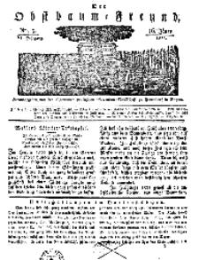 Der Obstbaumfreund, Jg.VI, 16.Januar 1833, No 3.