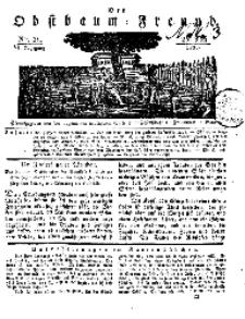 Der Obstbaumfreund, Jg.VI, 25. Mai 1833, No 21.