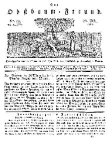 Der Obstbaumfreund, Jg.VI, 28. Juli 1833, No 30.