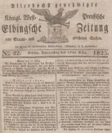 Elbingsche Zeitung, No. 22 Donnerstag, 17 März 1825