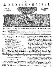 Der Obstbaumfreund, Jg.VI, 25. August 1833, No 34.