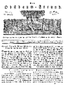 Der Obstbaumfreund, Jg.VI, 16. September 1833, No 37.
