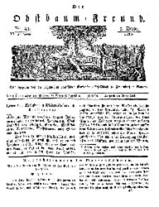 Der Obstbaumfreund, Jg.VI, 3. Dezember 1833, No 48.