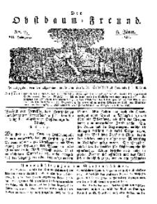 Der Obstbaumfreund, Jg.VII, 8. Januar 1834, No 2.