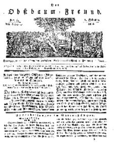 Der Obstbaumfreund, Jg.VII, 1. Februar 1834, No 5.