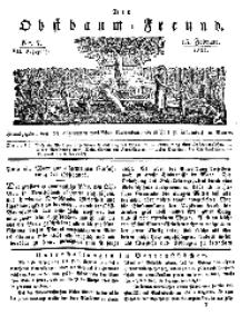 Der Obstbaumfreund, Jg.VII, 15. Februar 1834, No 7.
