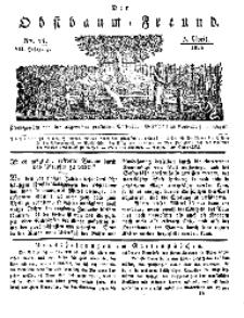 Der Obstbaumfreund, Jg.VII, 5. April 1834, No 14.
