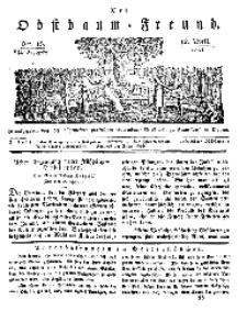 Der Obstbaumfreund, Jg.VII, 12. April 1834, No 15.