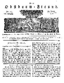 Der Obstbaumfreund, Jg.VII, 26. April 1834, No 17.