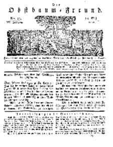 Der Obstbaumfreund, Jg.VII, 10. Mai 1834, No 19.