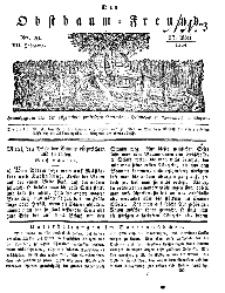Der Obstbaumfreund, Jg.VII, 17. Mai 1834, No 20.