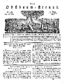 Der Obstbaumfreund, Jg.VII, 1. Juni 1834, No 22.