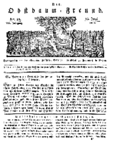 Der Obstbaumfreund, Jg.VII, 15. Juni 1834, No 24.