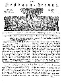Der Obstbaumfreund, Jg.VII, 29. Juni 1834, No 26.