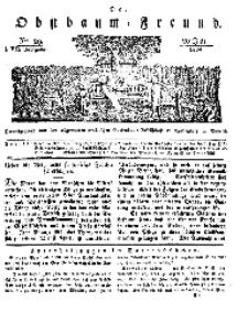 Der Obstbaumfreund, Jg.VII, 20. Juli 1834, No 29.